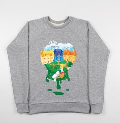 Цветной мир - Купить детские свитшоты с людьми в Москве, цена детских свитшотов с людьми  с прикольными принтами - магазин дизайнерской одежды MaryJane