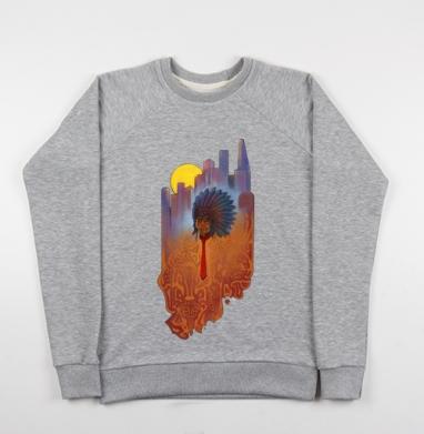 Городской шаман - Купить детские свитшоты с городами в Москве, цена детских свитшотов с городами  с прикольными принтами - магазин дизайнерской одежды MaryJane