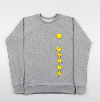 Почти яичница:) - Купить детские свитшоты с солнцем в Москве, цена детских свитшотов с солнцем с прикольными принтами - магазин дизайнерской одежды MaryJane