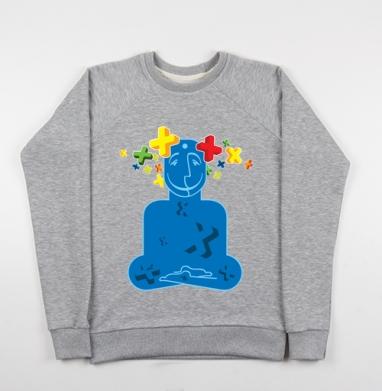 Позитивизация - Купить детские свитшоты с людьми в Москве, цена детских свитшотов с людьми  с прикольными принтами - магазин дизайнерской одежды MaryJane