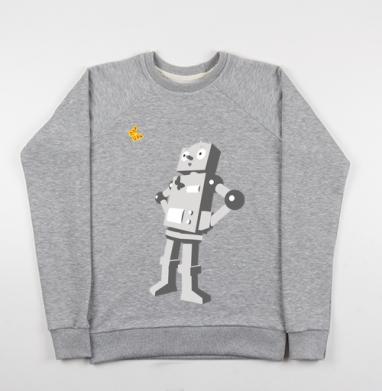 Robotics - Купить детские свитшоты с роботами в Москве, цена детских свитшотов с роботами с прикольными принтами - магазин дизайнерской одежды MaryJane