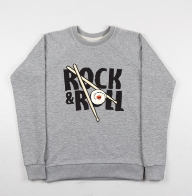 Rock and Roll - Купить детские свитшоты музыка в Москве, цена детских свитшотов музыкальных  с прикольными принтами - магазин дизайнерской одежды MaryJane