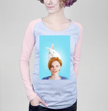 Алиса, следуй за белым кроликом - Футболки с длинным рукавом женские