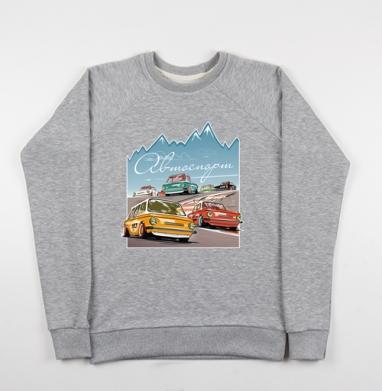Ралли винтаж - Купить мужские свитшоты ретро в Москве, цена мужских свитшотов ретро  с прикольными принтами - магазин дизайнерской одежды MaryJane