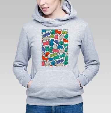 Киттикэтс - Купить детские толстовки с графикой в Москве, цена детских толстовок с графикой  с прикольными принтами - магазин дизайнерской одежды MaryJane
