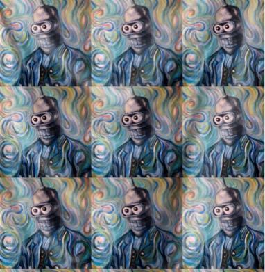 Ван Гог Ван Гогу - Бендер - живопись, Популярные