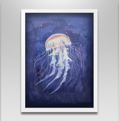 Медуза батик - Постеры, графика, Популярные