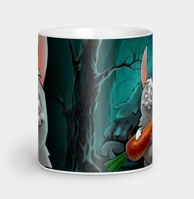 Кролик с морковкой, Кружка