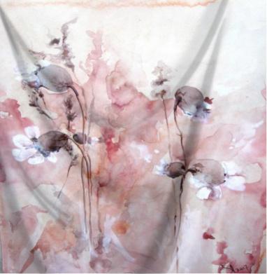 Осенние цветы  - Интернет магазин футболок №1 в Москве