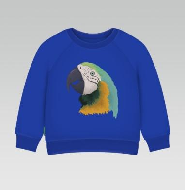 Cвитшот Детский Синий 320гр, стандарт - Parrot