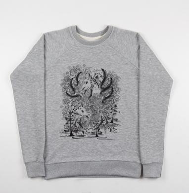 Дракон - Купить мужские свитшоты со сказками в Москве, цена мужских свитшотов со сказками  с прикольными принтами - магазин дизайнерской одежды MaryJane