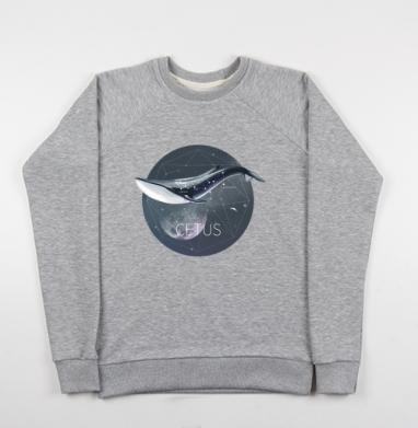 КИТ - Купить мужские свитшоты морские  в Москве, цена мужских свитшотов морских   с прикольными принтами - магазин дизайнерской одежды MaryJane