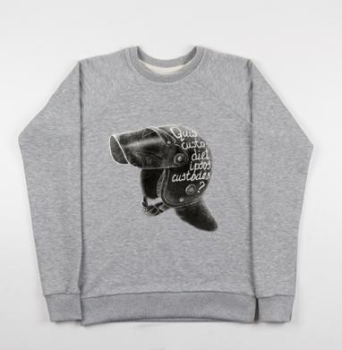 Кто устережёт самих сторожей - Купить мужские свитшоты свобода в Москве, цена мужских свитшотов свобода  с прикольными принтами - магазин дизайнерской одежды MaryJane