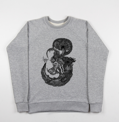 Морской Мыслитель - Купить мужские свитшоты морские  в Москве, цена мужских свитшотов морских   с прикольными принтами - магазин дизайнерской одежды MaryJane