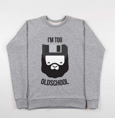 ОЛДСКУЛ - Купить мужские свитшоты ретро в Москве, цена мужских свитшотов ретро  с прикольными принтами - магазин дизайнерской одежды MaryJane