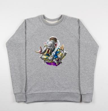 Шестилапый слон - Купить мужские свитшоты свобода в Москве, цена мужских свитшотов свобода  с прикольными принтами - магазин дизайнерской одежды MaryJane