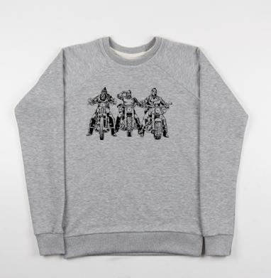 Три богатыря - Купить мужские свитшоты Россия в Москве, цена мужских свитшотов Россия  с прикольными принтами - магазин дизайнерской одежды MaryJane