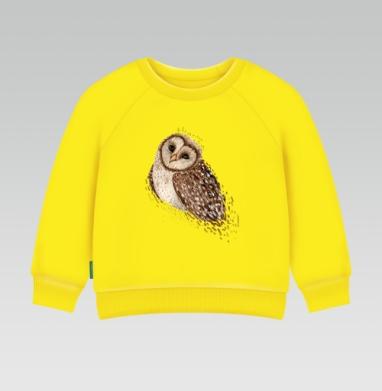 Cвитшот Детский желтый 240гр, тонкая - Совунья