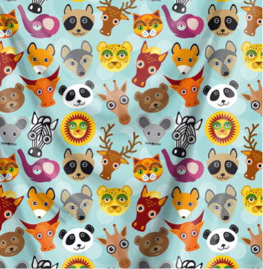 Животные панда олень жираф зебра слон лев кошка волк лошадь енот лиса - СССР, Популярные