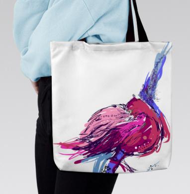 Сумка с полной запечаткой - Фламинго ... настроение