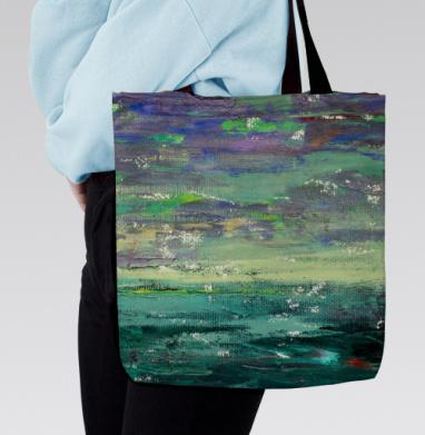 Сумка с полной запечаткой - Изумрудное море