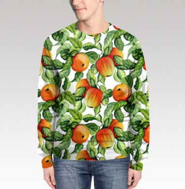 Яблоки, Свитшот мужской 3D
