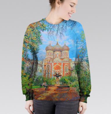Cвитшот женский 3D - Собор Покрова Пресвятой Богородицы