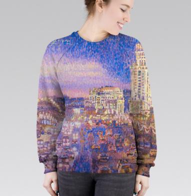 Cвитшот женский 3D - Павелецкая