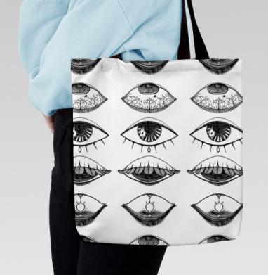 Четыре Глаза - Сумка с полной запечаткой, человек, Популярные