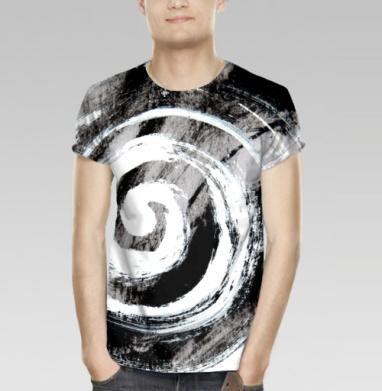 Футболка мужская 3D - Динамичная спираль