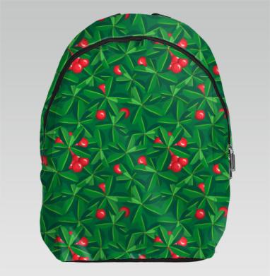 Паттерн брусничная поляна - Рюкзак