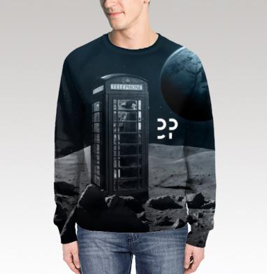 Космос, Свитшот мужской 3D