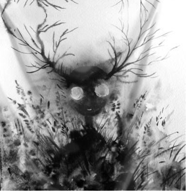 Маленький дух - акварель, Популярные