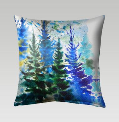 Хвойный синий лес, Подушка