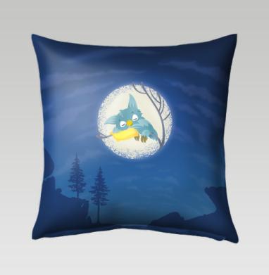 Спящая сова, Подушка