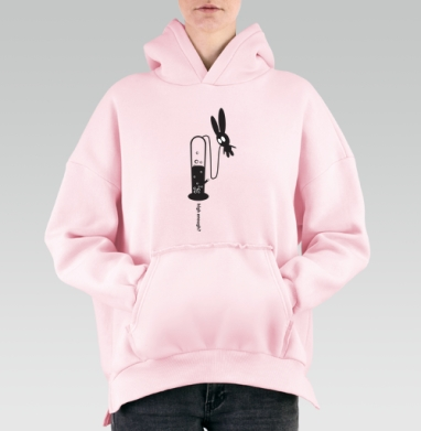 High Enough?, Hoodie Mjhigh Pink, утепленная