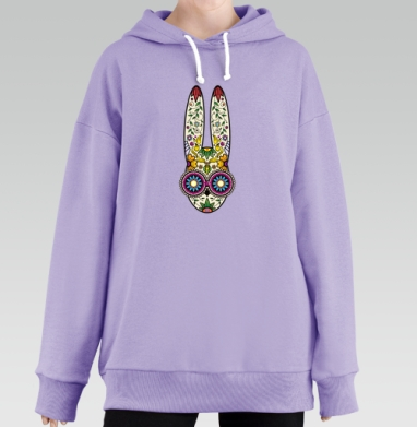 Day of the Dope, Hoodie Long Lavanda, утепленная